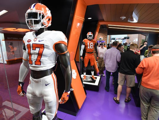 Clemson's football operations center