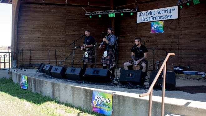 Feckless Fear Dearg performs at the tenth annual CelticFest.