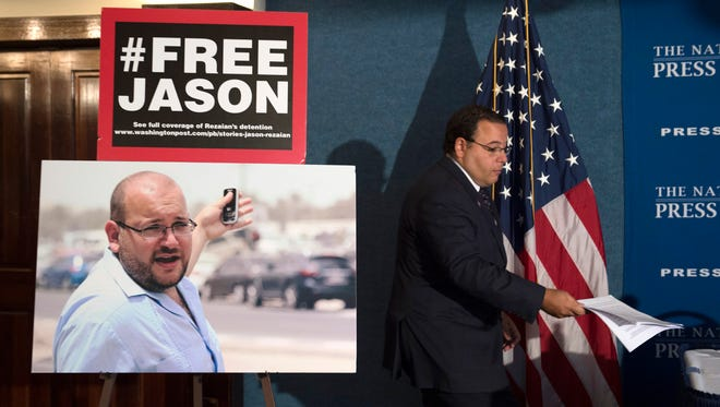 Jason Rezaian was held in an Iranian prison for almost 18 months on spy charges.