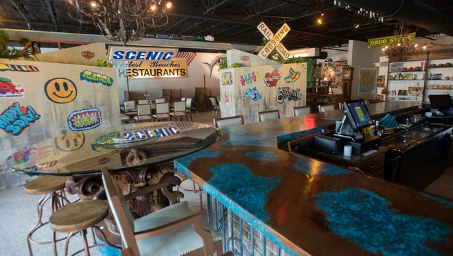 Brew Ha Ha is a new Pensacola themed restaurant on 12th Ave. The new eatery features a decor salvaged from Pensacola's past and serves southern-styled cooking.