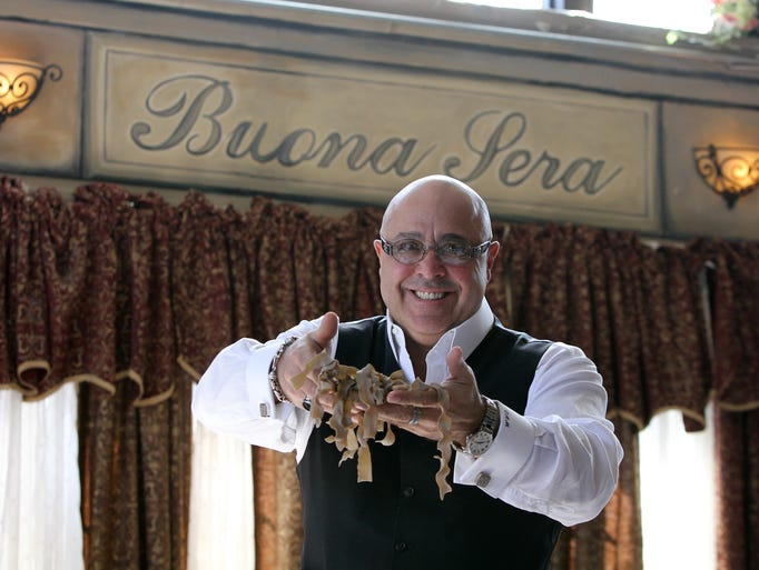 Christopher A. Mariani, chef and proprietor of Buona