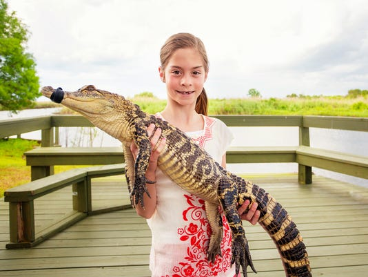 Growing up with gators