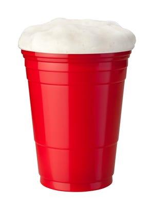 Beer in Plastic Cup