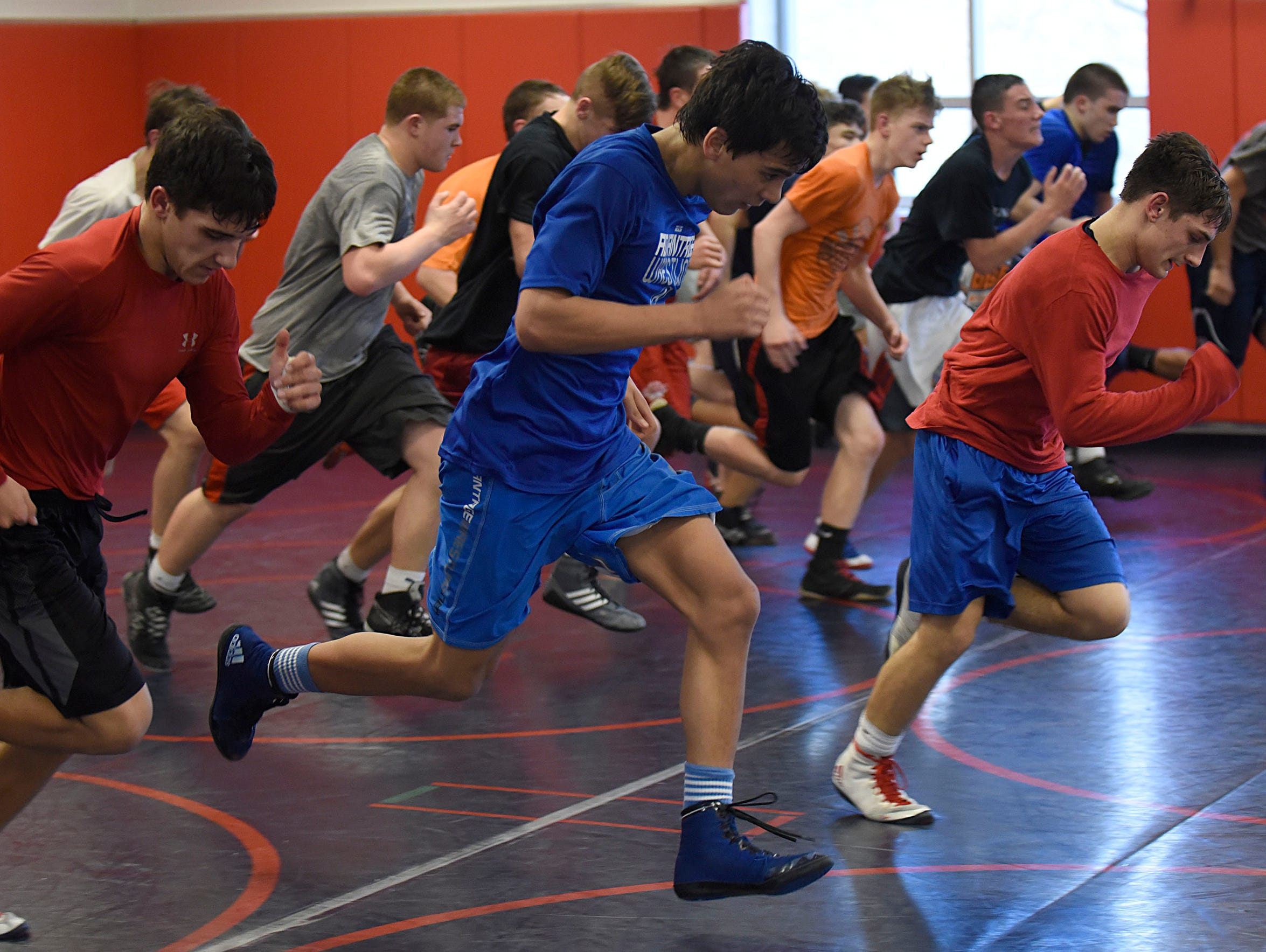 High school wrestlers find out there's much more to