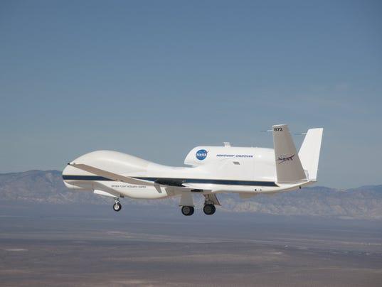 NASA Global Hawk UAV successfully tested an open systems    Nasa Global Hawk