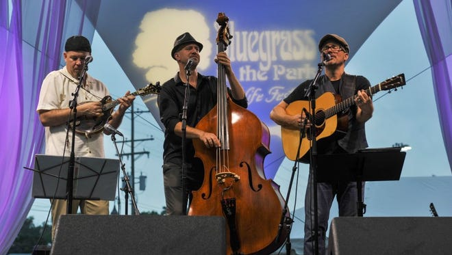 Honeywagon performs at the Bluegrass in the Park Folklife Festival in Henderson, Ky., in 2014.