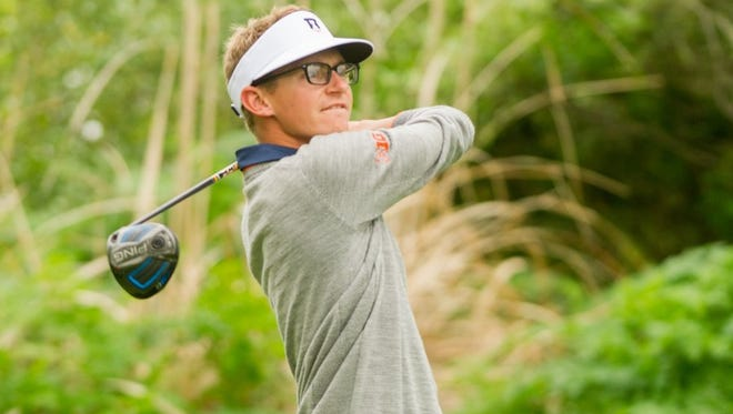 Dylan Meyer won the Western Amateur Championship on Aug. 6. The Evansville native is preparing for his first U.S. Amateur Championship, which begins Monday.