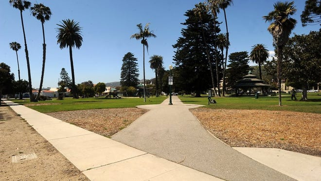 STAR FILE PHOTO Plaza Park in downtown Ventura.