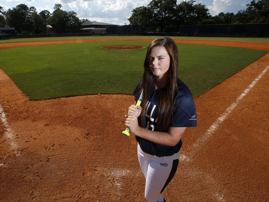 Aucilla Christian sophomore Abigail Morgan is the 2016
