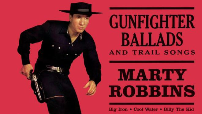 """""""Big Iron"""" was featured on the Marty Robbins 1959 album, """"Gunfighter Ballads and Trail Songs."""""""