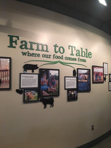 Seedlings, the new farm-to-table restaurant at The