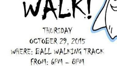 The Ball Boo Walk is set for 6 to 8 p.m. on the Ball walking trail.