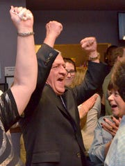 Wright when he found out he would become Livonia's 10th mayor.