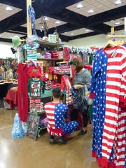 Patriotic pajamas were a hit last year at the Christmas