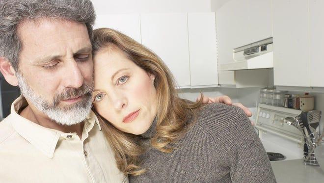 A husband and wife