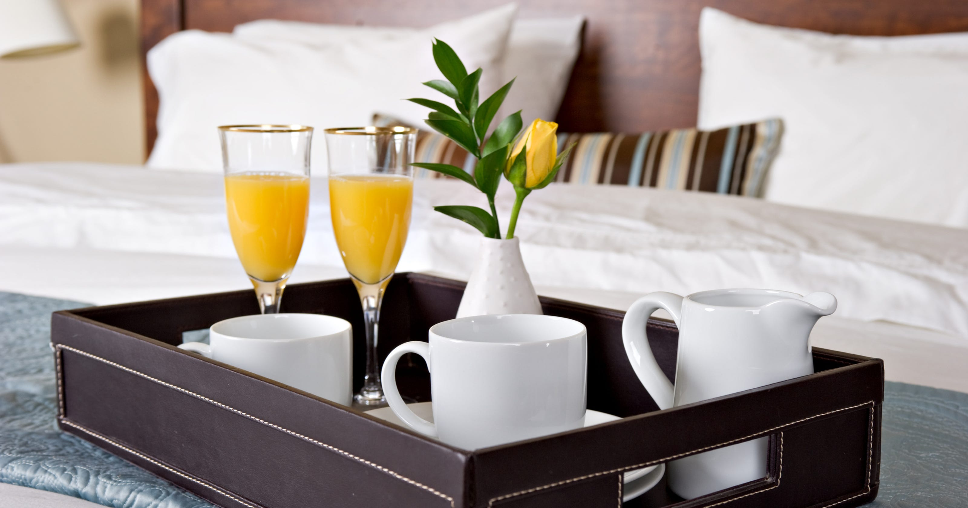 Five myths about hotel room service
