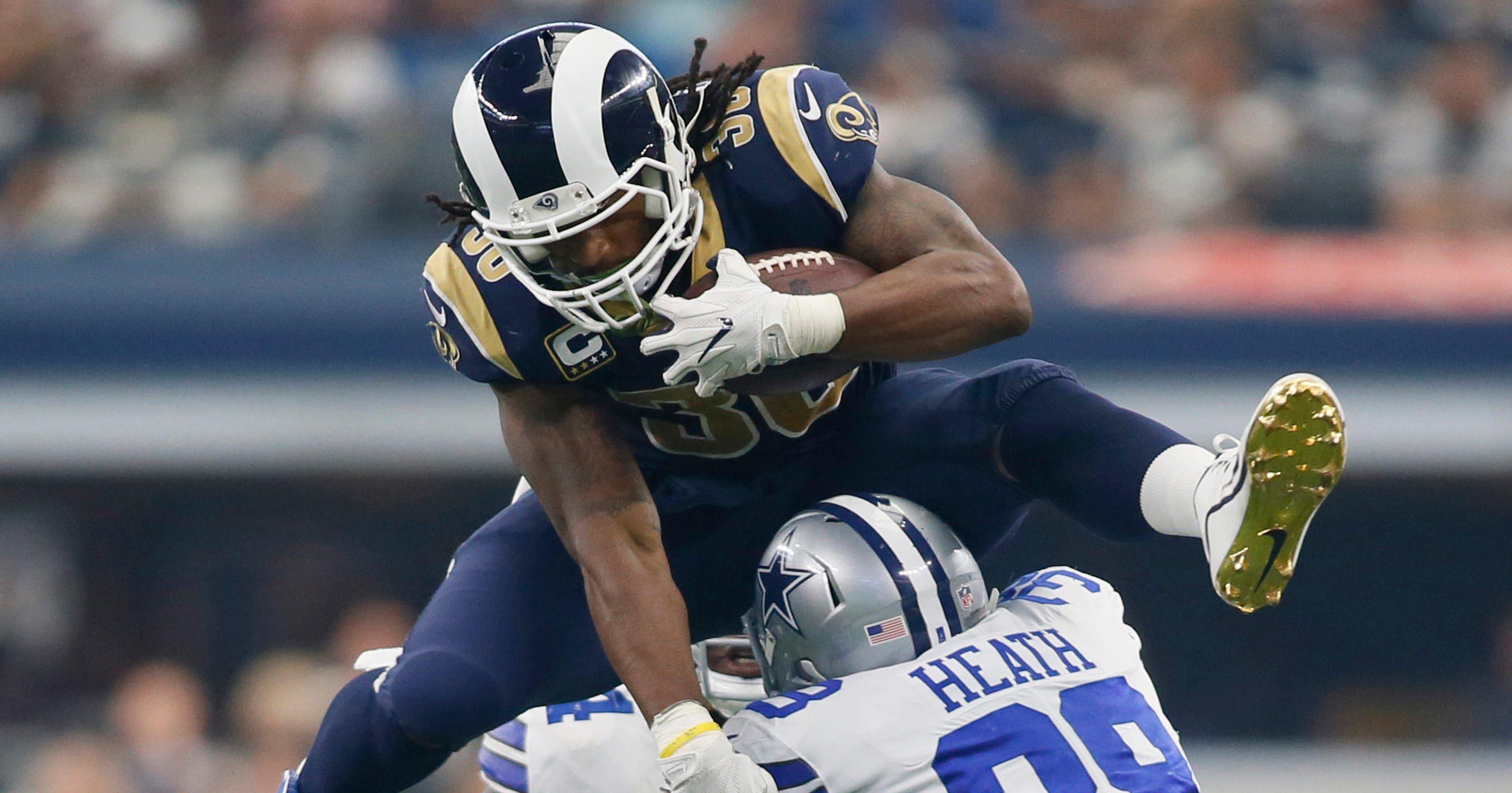 1bee43b26 NFL Week 5 player matchups: Can Rams' Todd Gurley slice Seahawks?