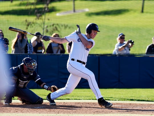 Josh Rehwaldt leads USF with a .342 batting average