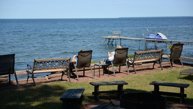 The Shallows Resort in Egg Harbor on Aug. 12, 2015.
