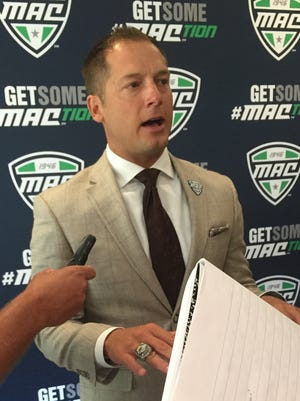 Western Michigan football coach P.J. Fleck.