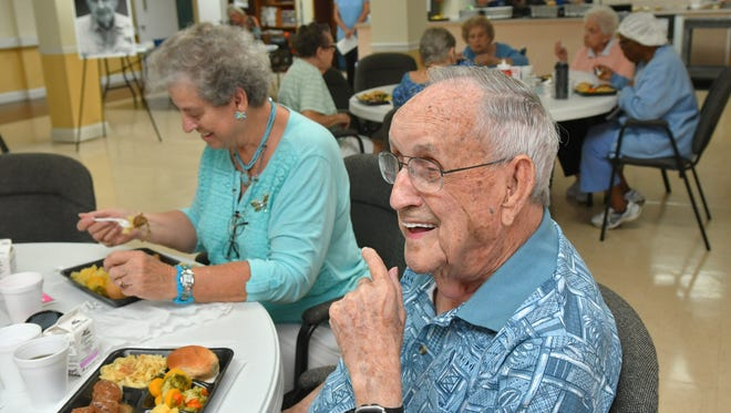 Henry Thomas, a Georgia native and Cocoa resident of Westminster Asbury retirement community, turned 102 Aug. 28.