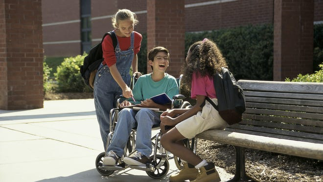 The Washoe County School District classifies about 8,700 of its students as having a disability.