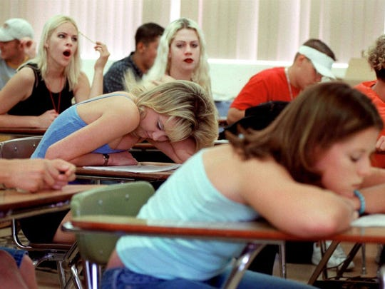 School is about to start and getting up in the morning after a summer of sleeping in could be tough.