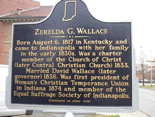 Zeralda G. Wallace historical marker