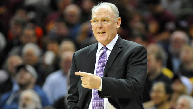 Sacramento Kings and coach George Karl have decided to work on their issues.