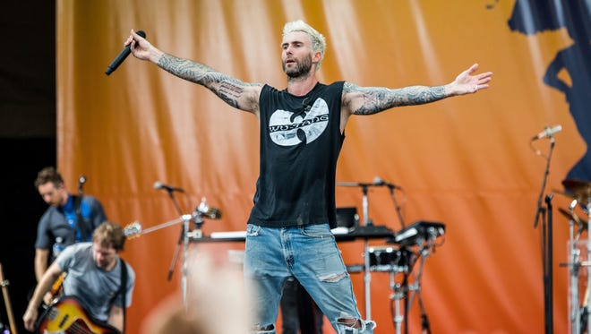 Maroon 5 will perform at Hersheypark Stadium in Hershey on Saturday, July 14.