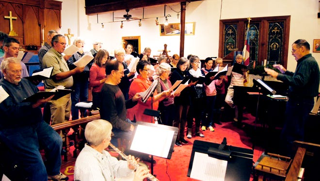 "The Community Chamber Singers will present a free holiday concert, ""Et In Terra Pax,"" at 3 p.m. on Sunday, at the Episcopal Church of the Good Shepherd in Silver City."