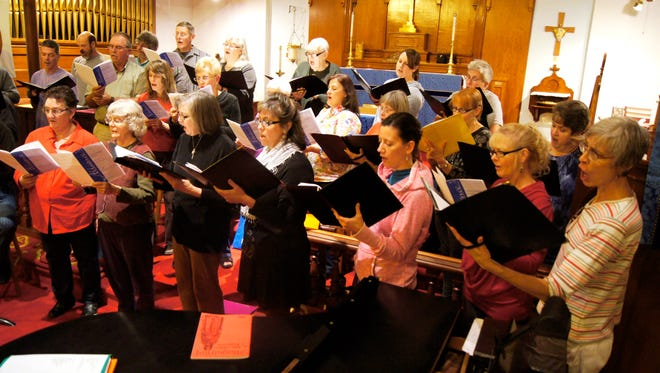 Since 1993, the Chamber Singers have been directed by Mick Coon. The community choir will perform on Sunday in Silver City.