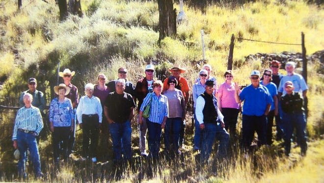 Members of the Westerners Corral No. 36 in Silver City took a field trip to Alma, N.M., on Oct. 24.
