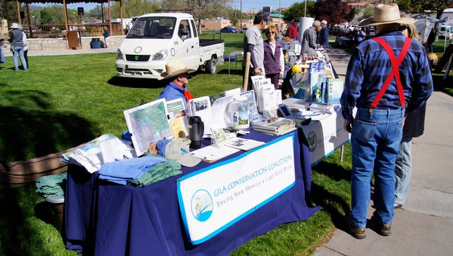 Beautiful weather made last year's Earth Day celebration a popular event. The annual celebration returns to Gough Park on Saturday.