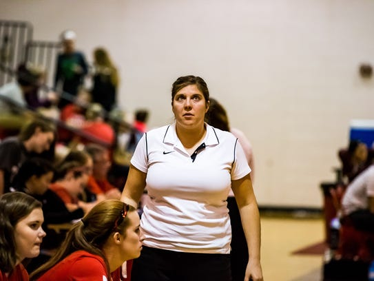 Ruth Thompson resigned from her job as Riverheads volleyball