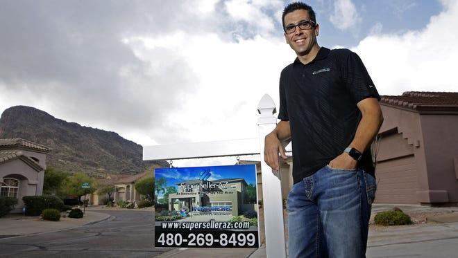 Dan Noma Jr. at a home on the market on Jan. 10, 2018, in Scottsdale, Ariz.