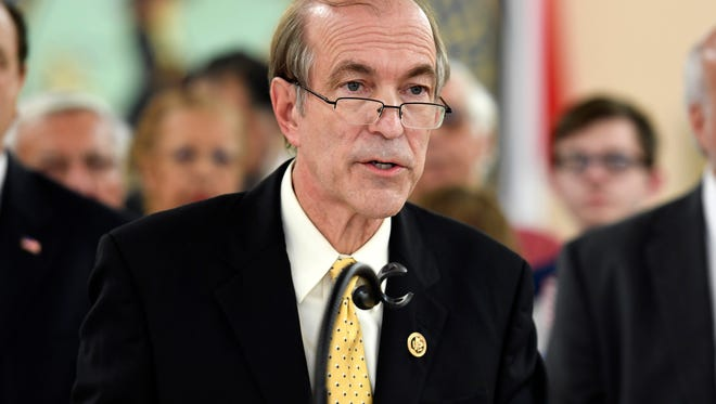 Scott Garrett has been nominated to head the Export-Import Bank, an agency he has criticized in past speeches.