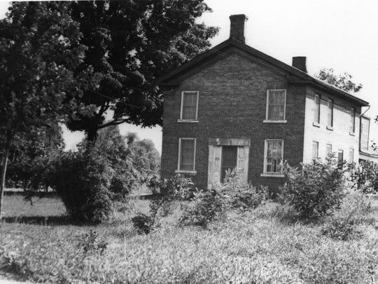 The Warren B. Shepard House at 373 Riverside Drive in the 1930s.