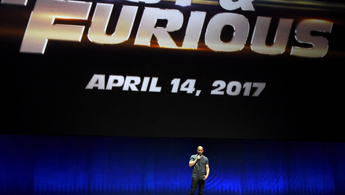 'Furious 8' coming to theaters April 2017
