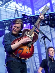 Recording artist Wesley Schultz of The Lumineers performs