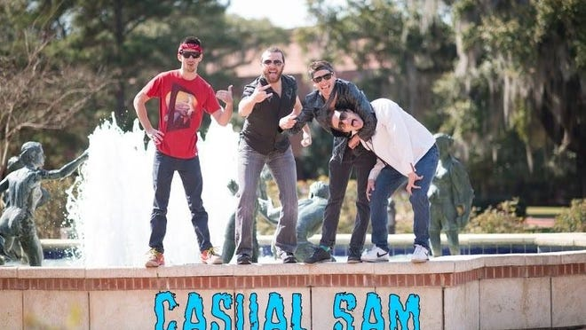 Casaul Sam will be the biggest thing to hit campus since Ice Cube came.