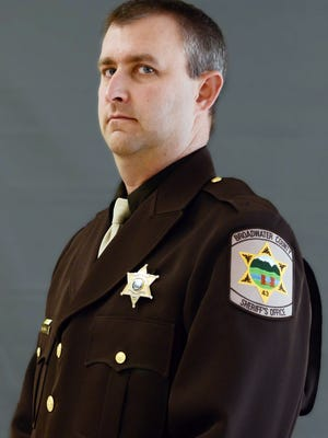 Broadwater County Sheriff's Deputy Mason Moore, 38. was killed early Tuesday in a shootout that prompted a middle-of-the-night pursuit.