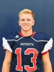 North Vermilion's Garrett Becker (13)