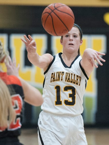 Paint Valley's girls defeated Whiteoak Tuesday night