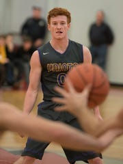 Unioto's Logan Swackhammer currently has 314 career assists, 29 away from tying Shayne Combs' school record of 343. Swackhammer is averaging 6.6 assists per game alongside a scoring average of 16.6.