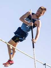 Adena's Tyler Williams took first place in the pole vault at the Ross County Invitational Tuesday evening with a height of 12 feet.