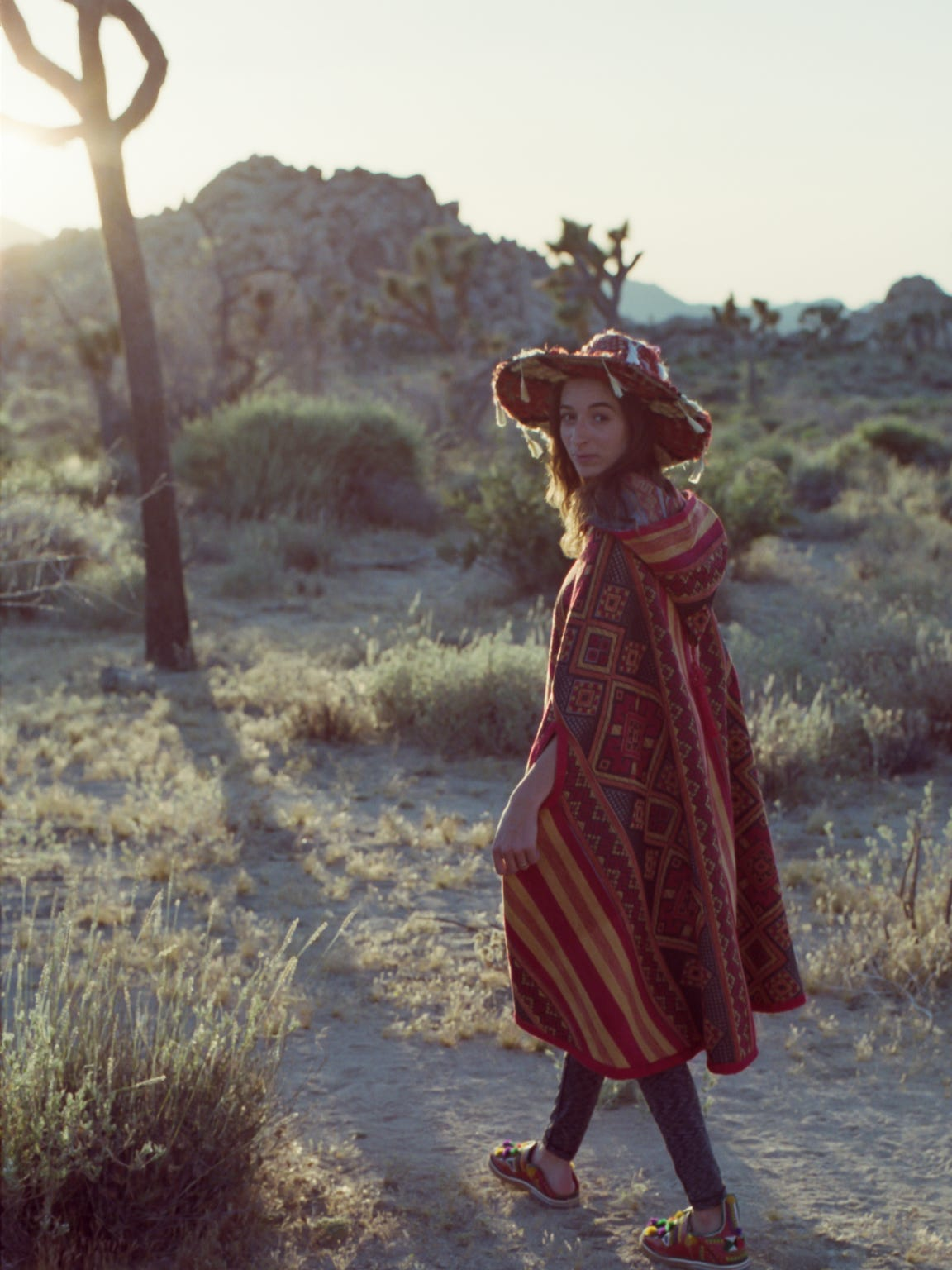 "Moroccan-French designer Sofia Badaoui has been making traditional Moroccan clothing with a ""street style California twist"" under the brand Calicouz for the last four years."