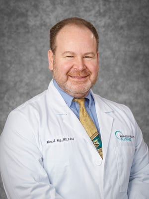 Dr. Marc Neff, medical director of the Center for Surgical Weight Loss at Jefferson Health.