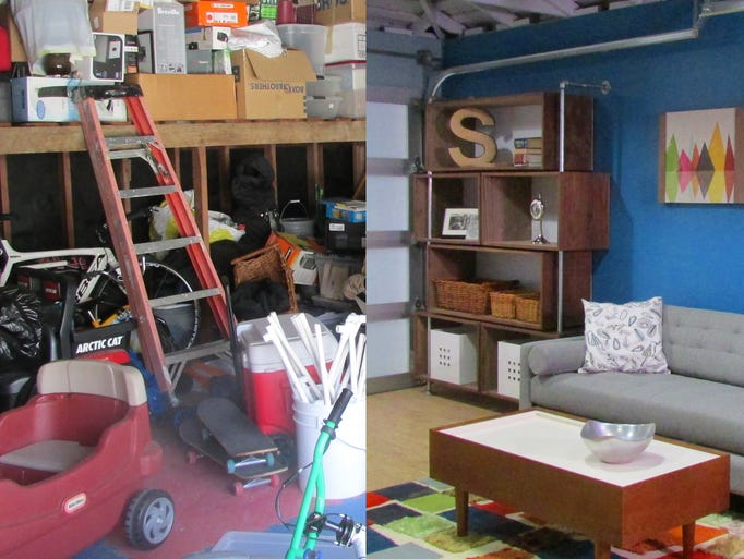 Garage Into Family Room Makeover : Garage makeovers turn space into playroom office or