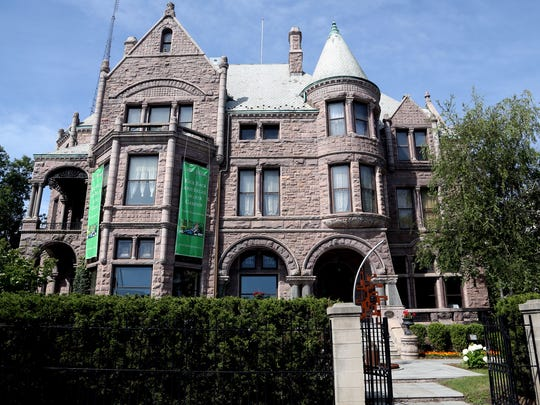 The Whitney on Woodward Avenue in Detroit is said to be haunted by lumber baron David Whitney and his first wife, Flora.